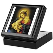 Madonna and Child Keepsake Box