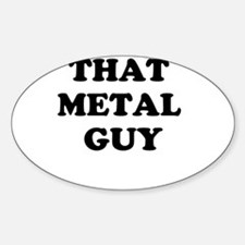 that metal guy Decal