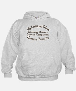My Traditional Values Hoodie