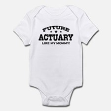 Future Actuary Like My Mommy Infant Bodysuit
