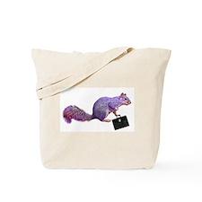 Purple Squirrel Tote Bag