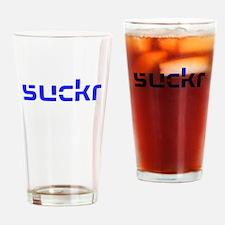 suckr Drinking Glass