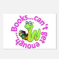 Reading Month Bookworm Postcards (Package of 8)