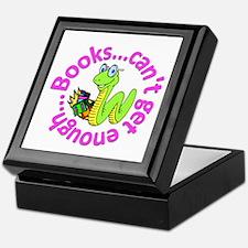 Reading Month Bookworm Keepsake Box