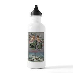 1907 Christmas Cherubs Water Bottle