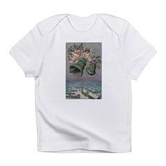 1907 Christmas Cherubs Infant T-Shirt