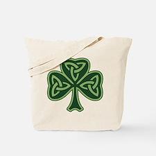 Trinity Shamrock Tote Bag