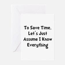 Know Everything Greeting Cards (Pk of 20)