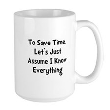 Know Everything Ceramic Mugs