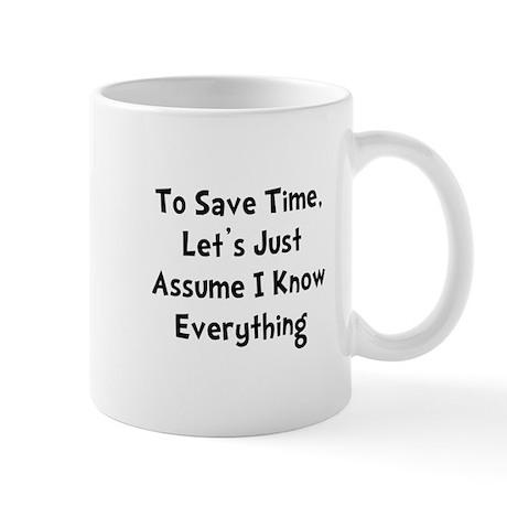 Know Everything Mug