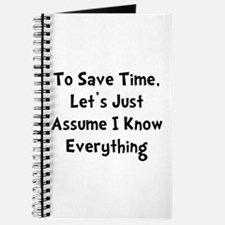 Know Everything Journal