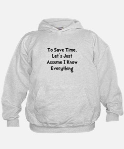 Know Everything Hoodie