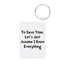 Know Everything Keychains