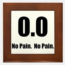 No Pain Framed Tile