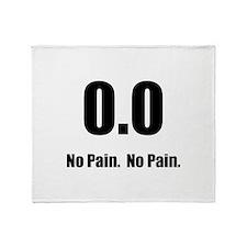 No Pain Throw Blanket