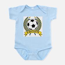 Soccer Sweden Infant Creeper