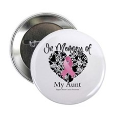 """In Memory of My Aunt 2.25"""" Button"""