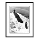 USS JOHN MARSHALL Large Framed Print