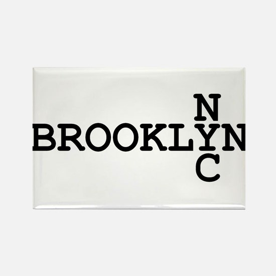 BROOKLYN NYC Rectangle Magnet