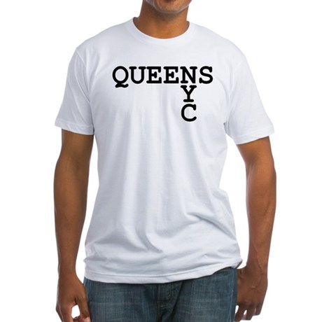 QUEENS NYC Fitted T-Shirt