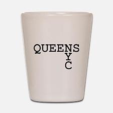 QUEENS NYC Shot Glass