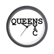 QUEENS NYC Wall Clock