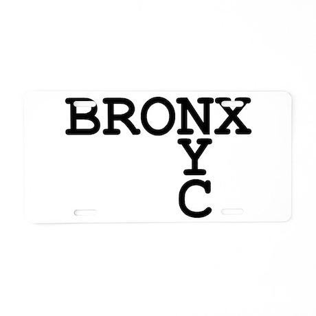BRONX NYC Aluminum License Plate