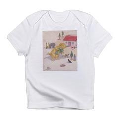 1927 Christmas Kitten 1 Infant T-Shirt