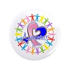 """SIDS Unite in Awareness 3.5"""" Button"""