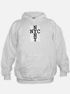 NYC, NYNY CROSS Hoodie