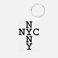 NYC, NYNY CROSS Keychains