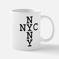 NYC, NYNY CROSS Mug