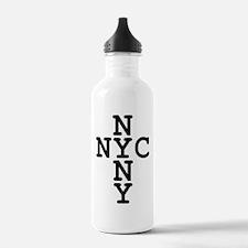 NYC, NYNY CROSS Water Bottle