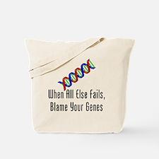 Blame Your Genes Tote Bag