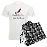 Blame Your Genes Men's Light Pajamas