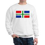 Groningen Gronings Blank Flag Sweatshirt