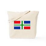 Groningen Gronings Blank Flag Tote Bag