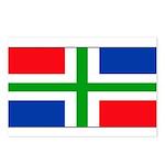 Groningen Gronings Blank Flag Postcards (Package o