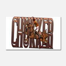 The Chukker Car Magnet 20 x 12