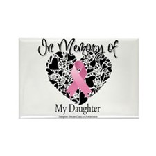 In Memory of My Daughter Rectangle Magnet