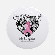 In Memory of My Daughter Ornament (Round)