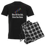 Blame Your Genes Men's Dark Pajamas