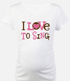 I Love To Sing Shirt