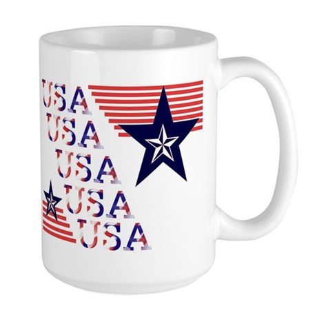"""Simply USA"" Large Mug"