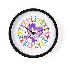 Sarcoidosis Unite in Awarenes Wall Clock