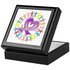 Sarcoidosis Unite in Awarenes Keepsake Box