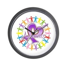 Sarcoidosis Unite in Awarenes Wall Clock