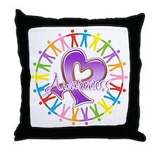 Sarcoidosis Unite in Awarenes Throw Pillow
