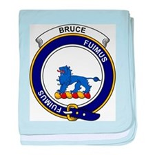 Cute Bruce clan baby blanket