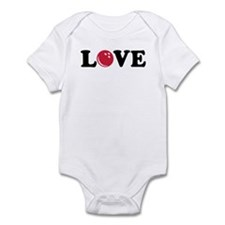 Bowling Love Infant Bodysuit
